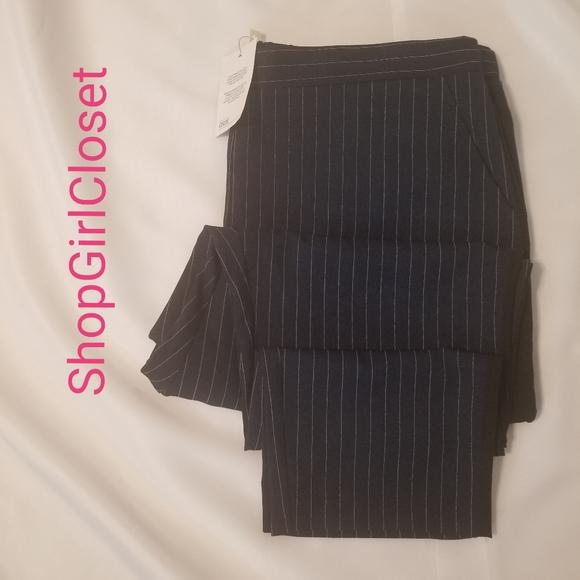 ASOS Pants - ASOS Pinstripe Tuxedo Pants...Sz 14